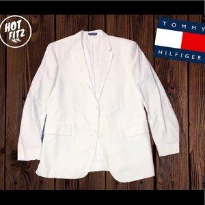 Tommy Hilfiger White  Sports Coat Suite Blazer